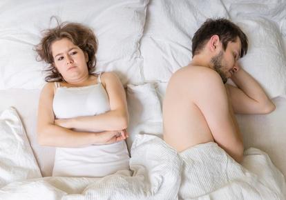 Stress wegen sexueller Probleme