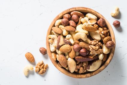 Nüsse gegen Stress