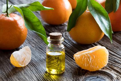 Mandarinen Öl gegen Stress