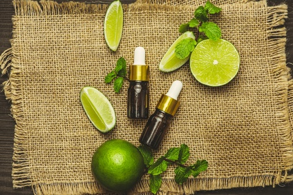 Limette Öl gegen Stress