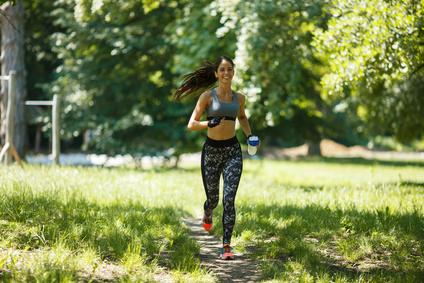 Sport treiben gegen Stress