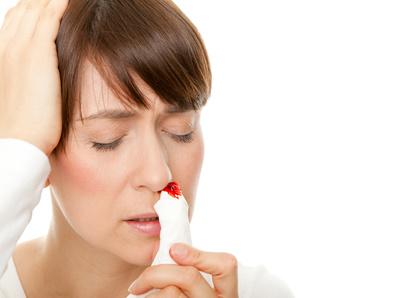 Nasenbluten bei Stress