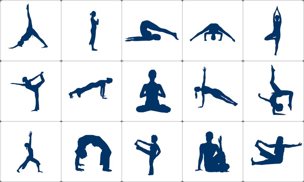 yoga übungen gegen stress