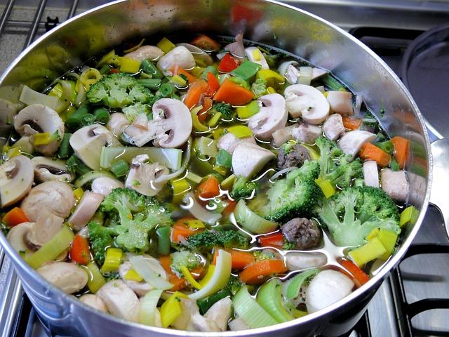 Gemüsesuppe gegen Stress
