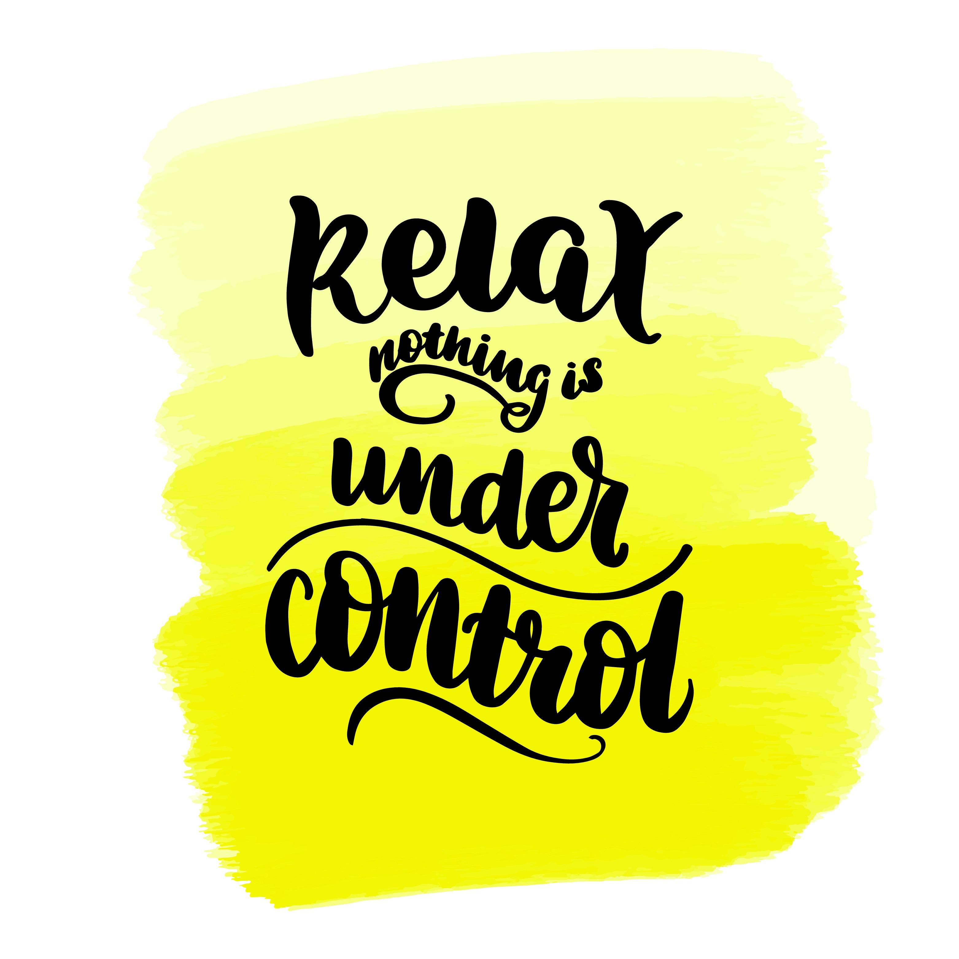 relax gegen stress