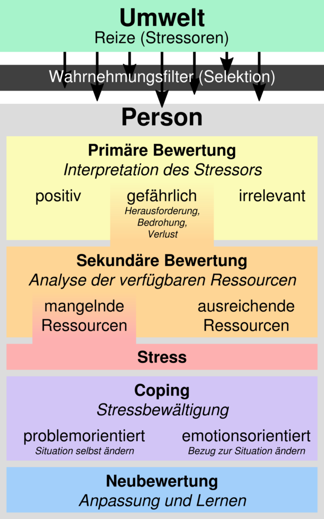 Stressmodell-Lazarus