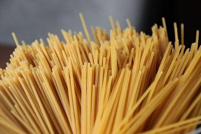 spaghetti mit lauchsauce