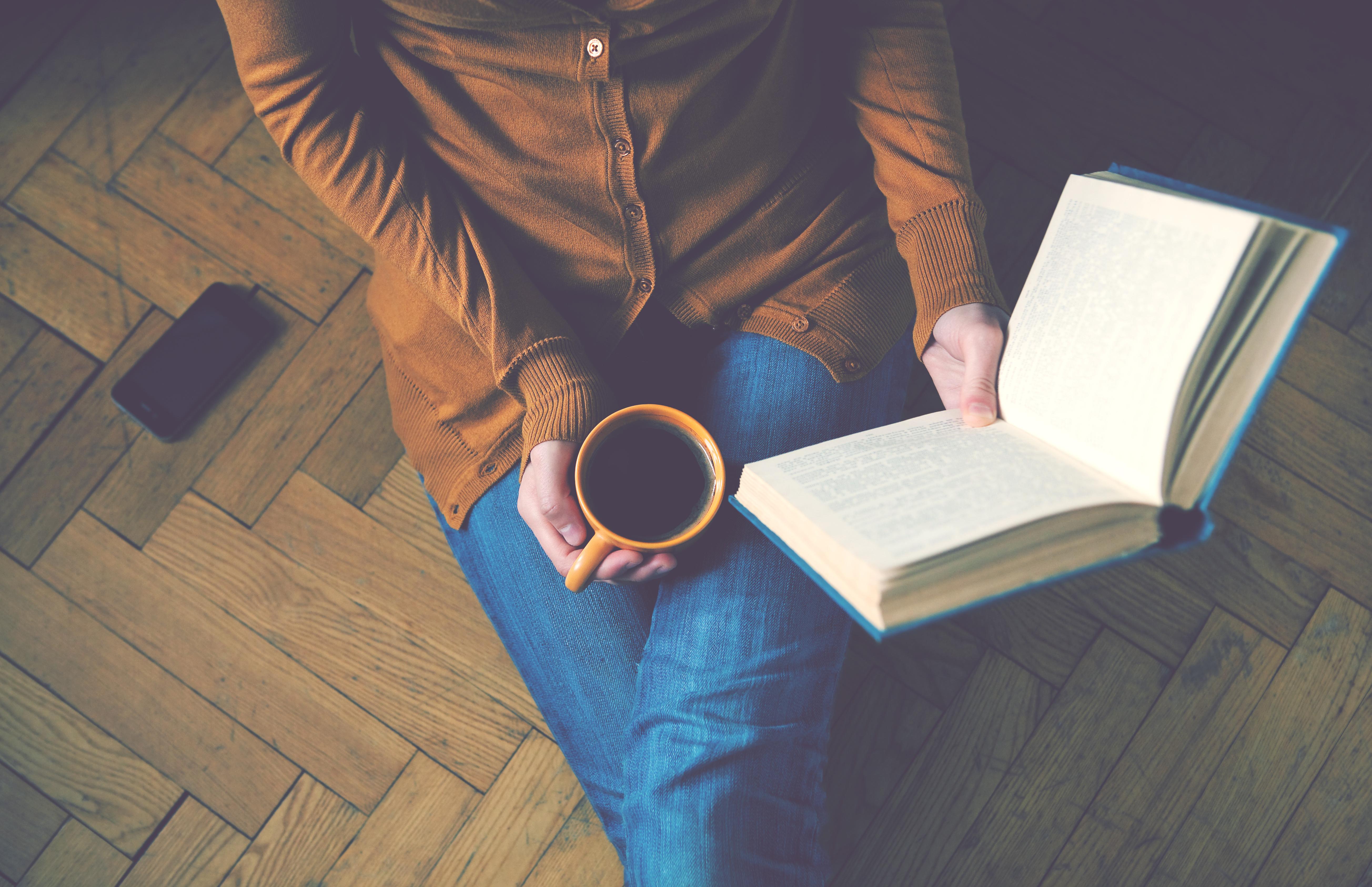 Buch lesen gegen Stress