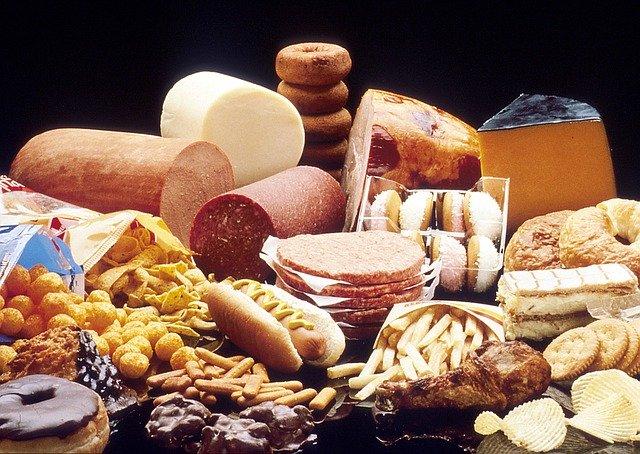 Fettreiche Lebensmittel
