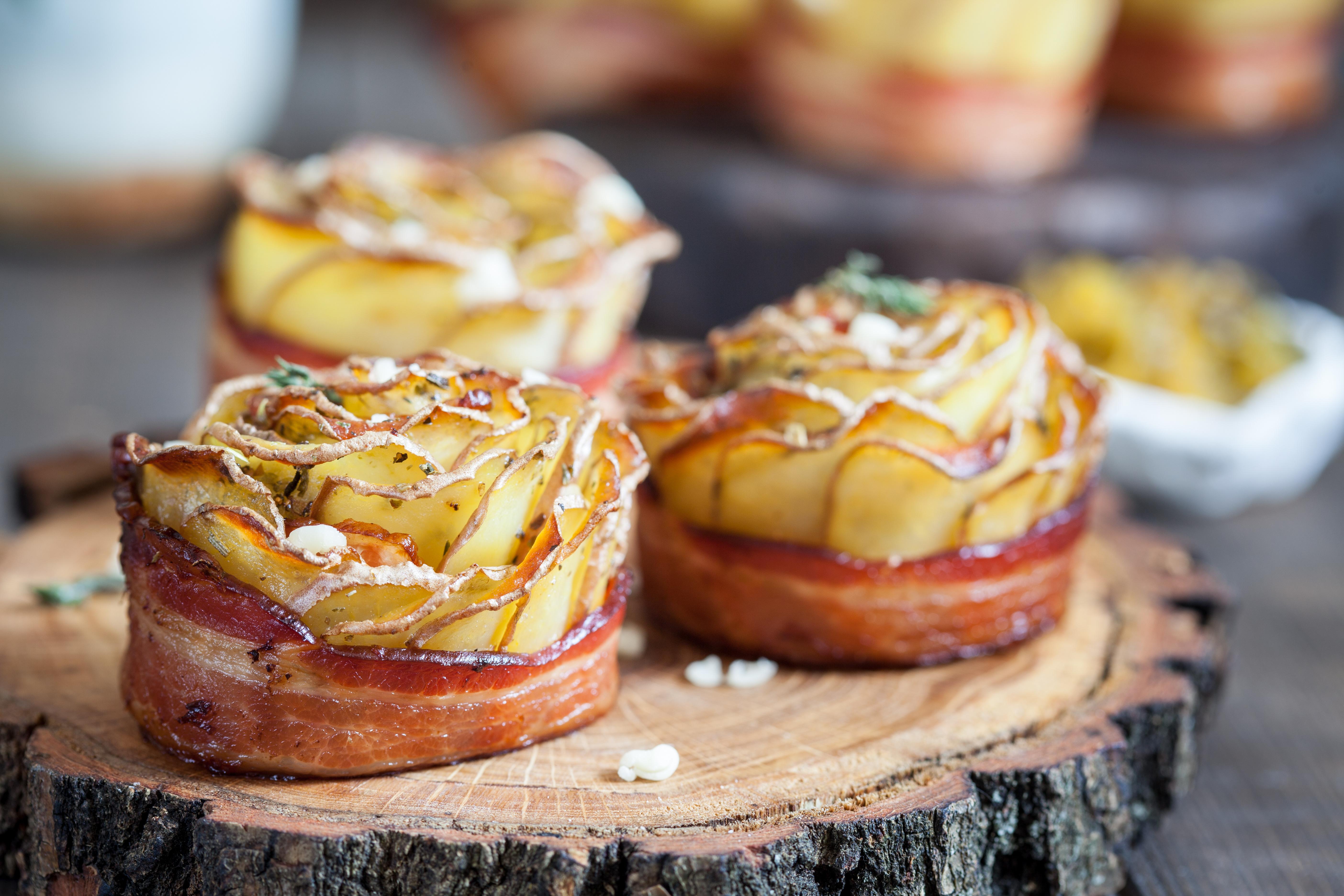 Kartoffel-Bacon Rosen