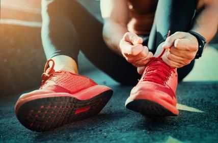 Regelmäßger Sport gegen Stress