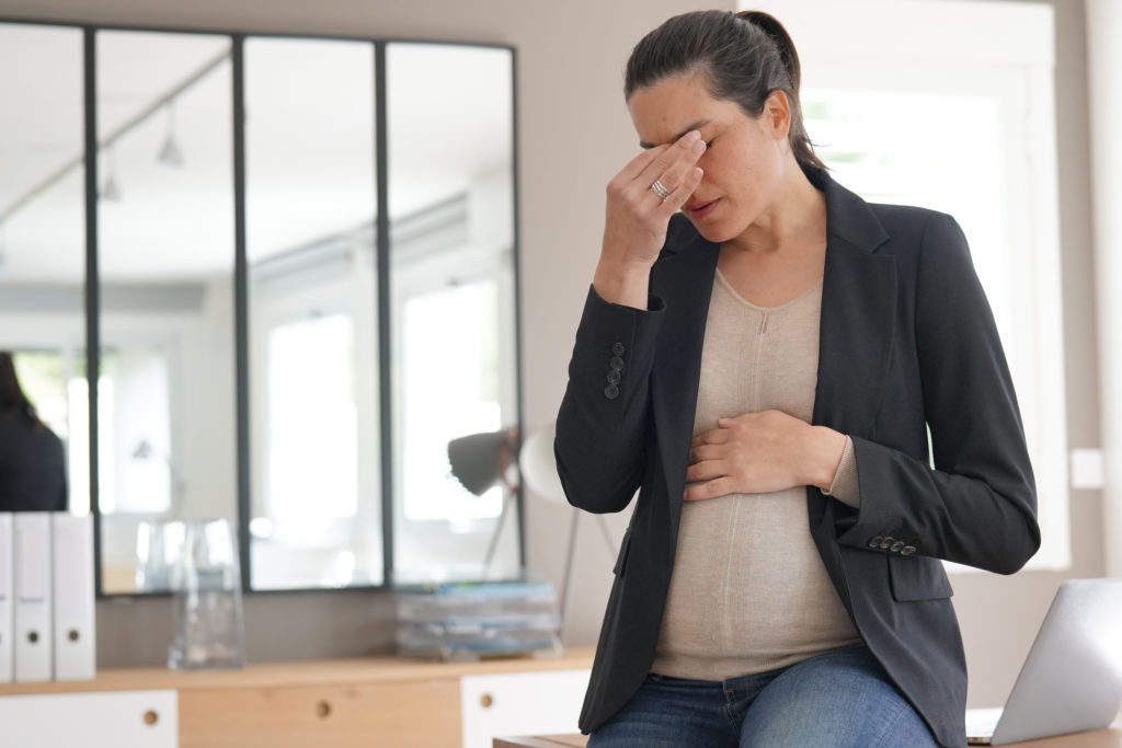 Stress in der Schwangerschaft