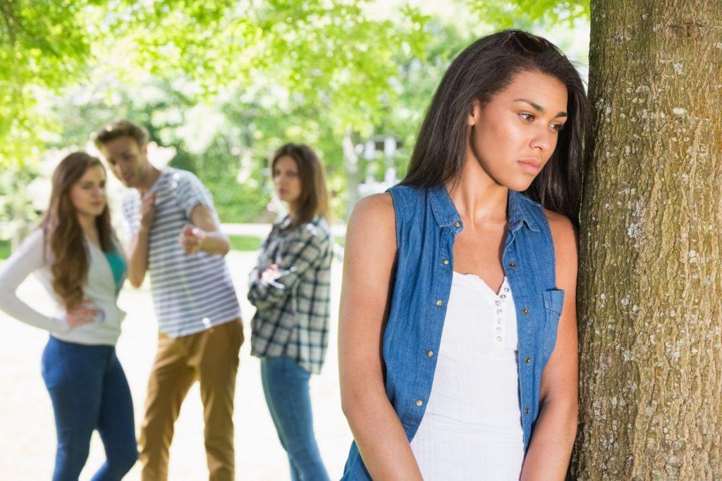 Mobbing verursacht Stress bei Schülern