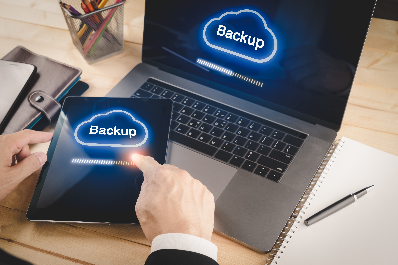 Computer Backup kann viel Stress ersparen