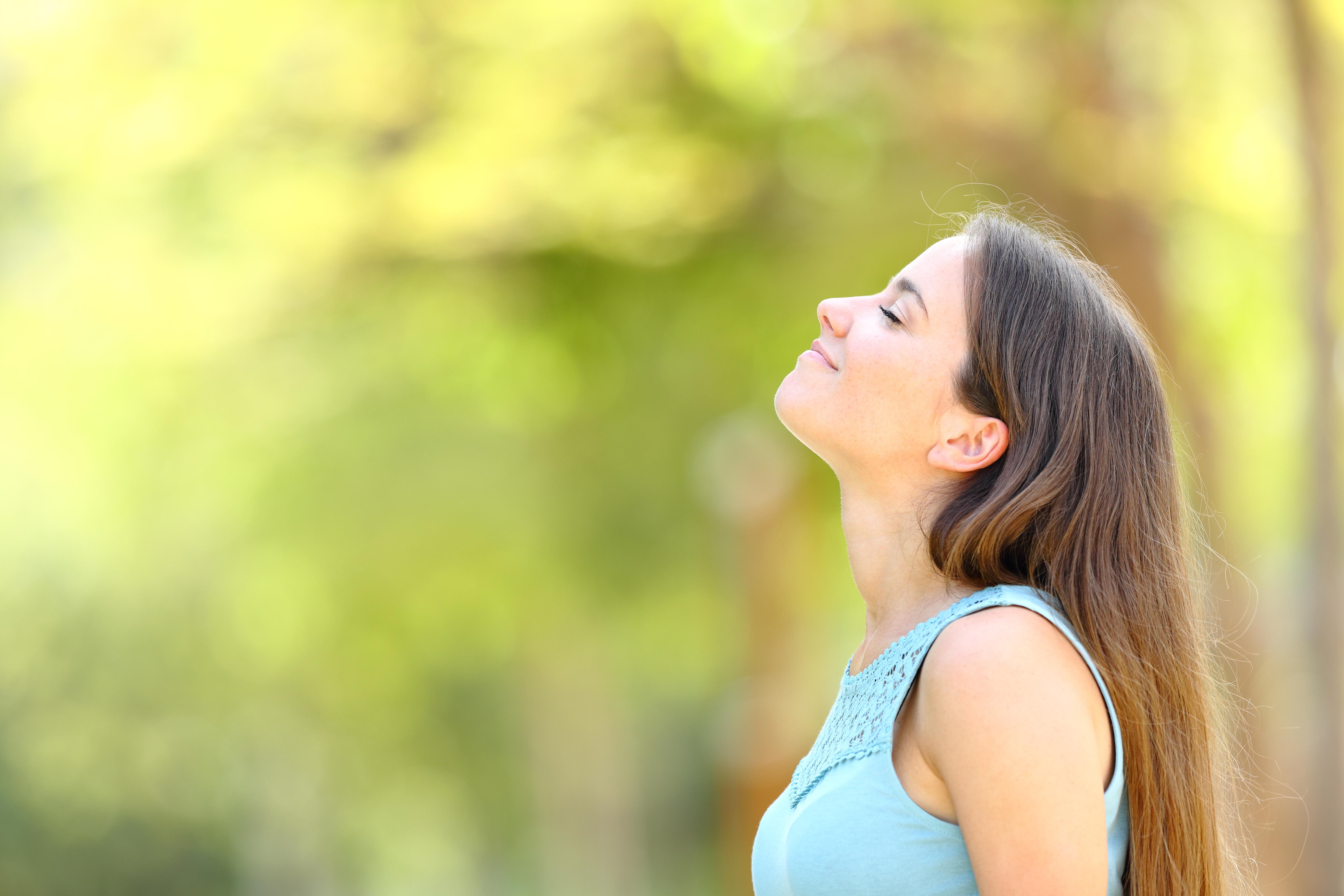 Frische Luft hilft gegen Stress