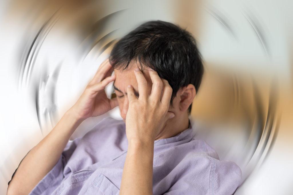 Schwindel durch Stress