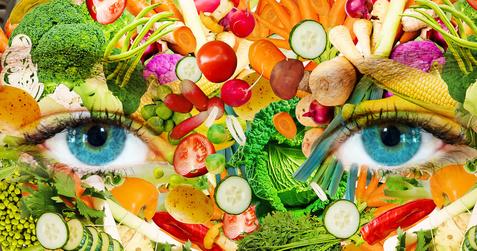 Richtigen Lebensmittel essen