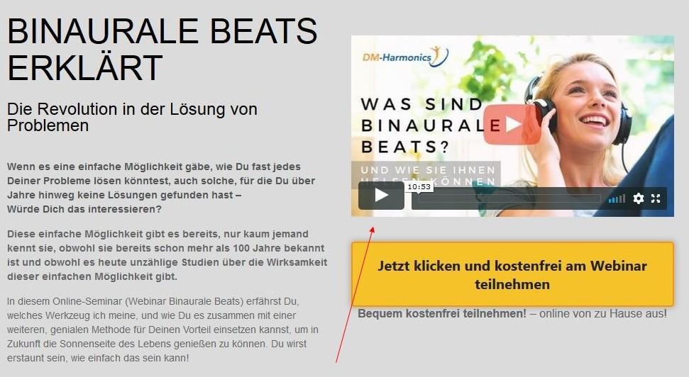 Binaurale Beats Webinar