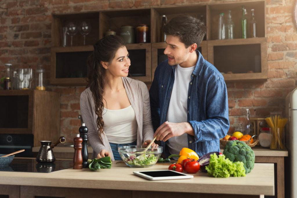 Gesunde Ernährung für deine Partnerin