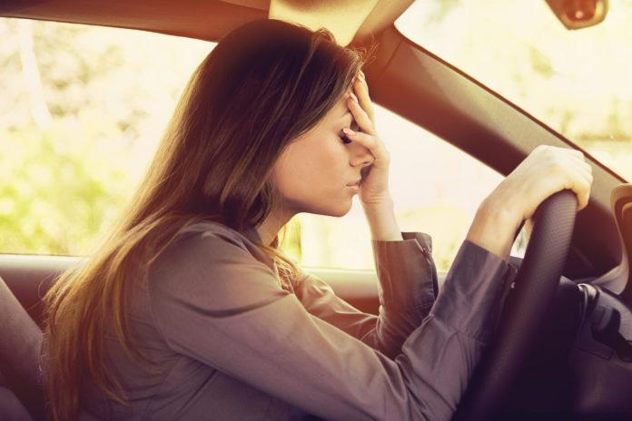 Autofahren Stress